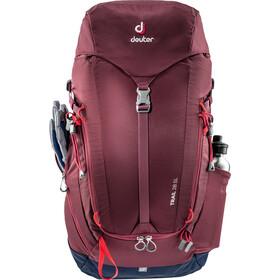 Deuter Trail 28 Backpack Dame maron/navy